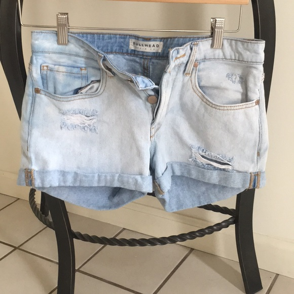 Bullhead Pants - Jean shorts (boyfriend fit/authentic wash style)
